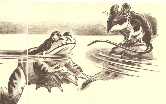 Book Review: The Battle of the Frogs and the Mice