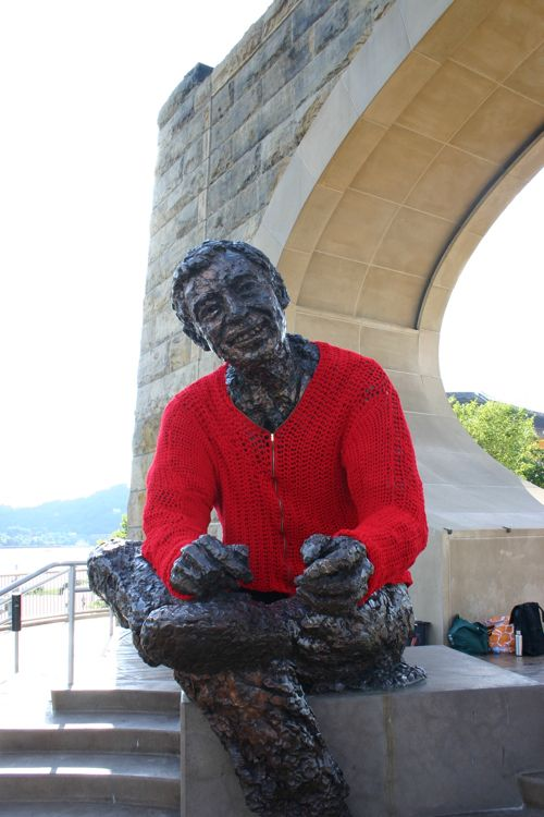 Mister Rogers Gets a New Sweater